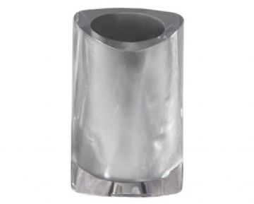 Gedy Twist Freestanding Tumbler Silver 4698-73